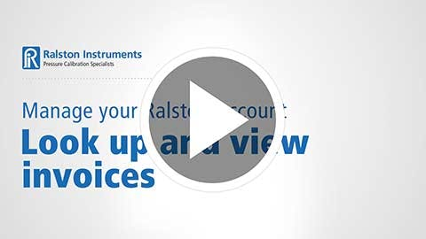Look Up and View Invoices