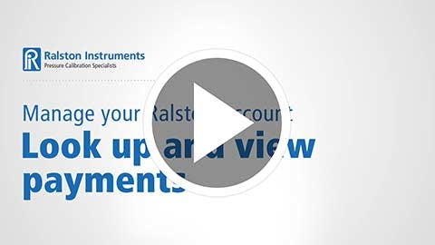 Look Up and View Payments