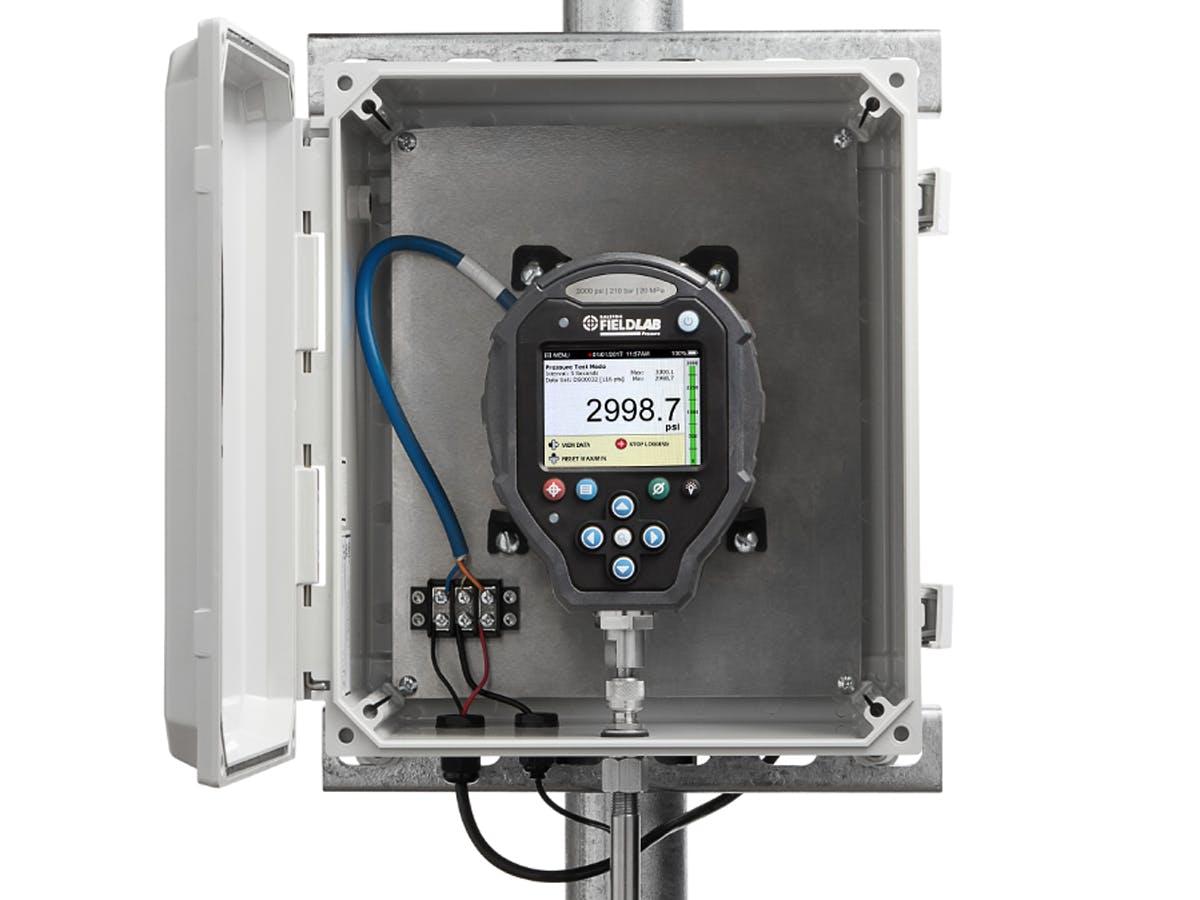 FieldLab Digital Pressure Calibrator Outdoor Enclosure