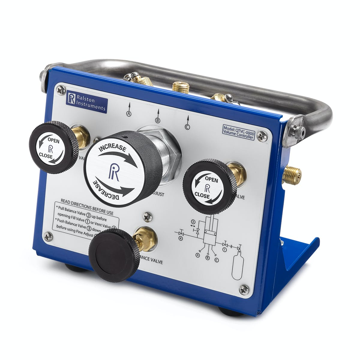 QTVC Compressed Gas Volume Controllers