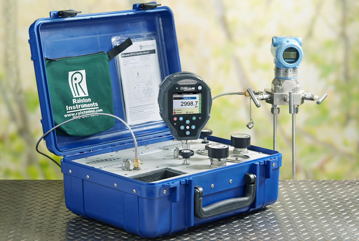 Portable Nitrogen Pressure Calibration