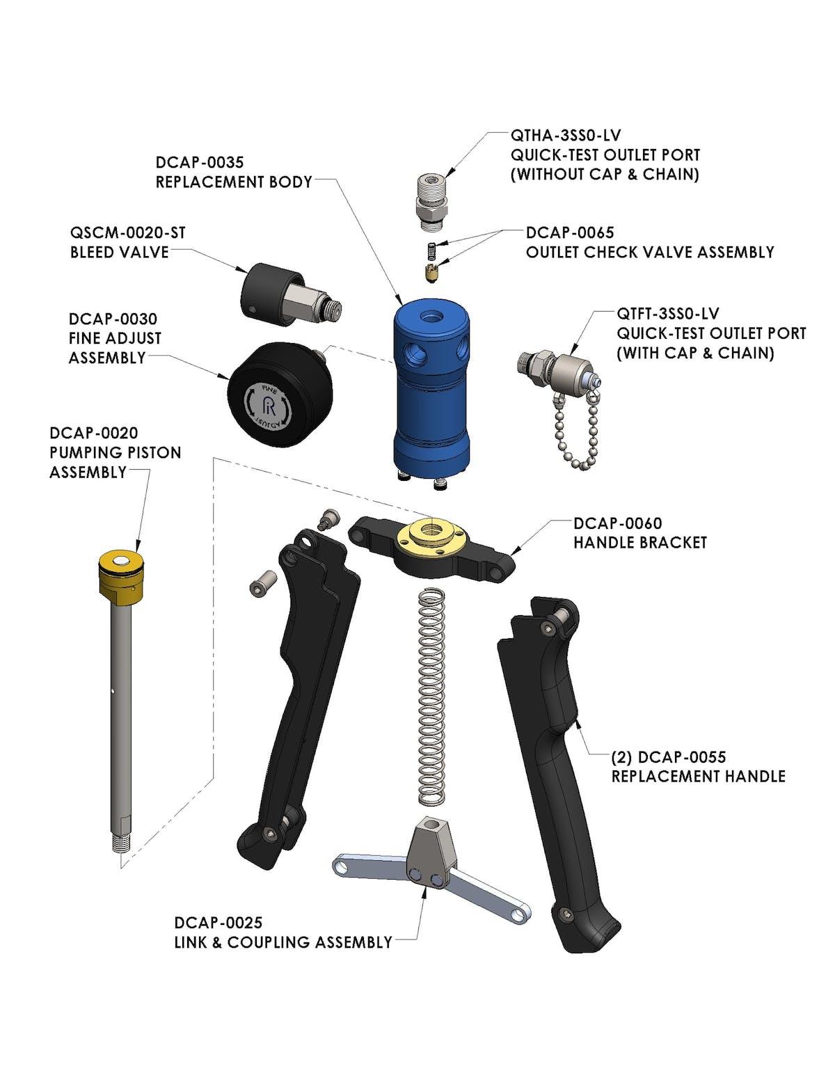 DCAP Replacement Parts