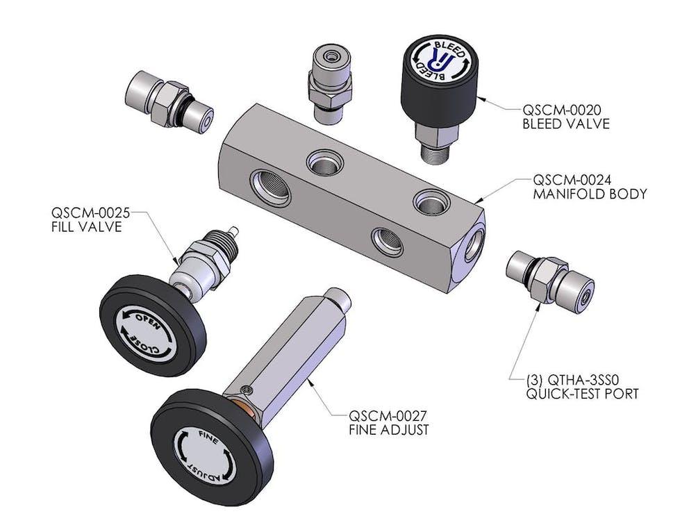 QSCM Replacement Parts