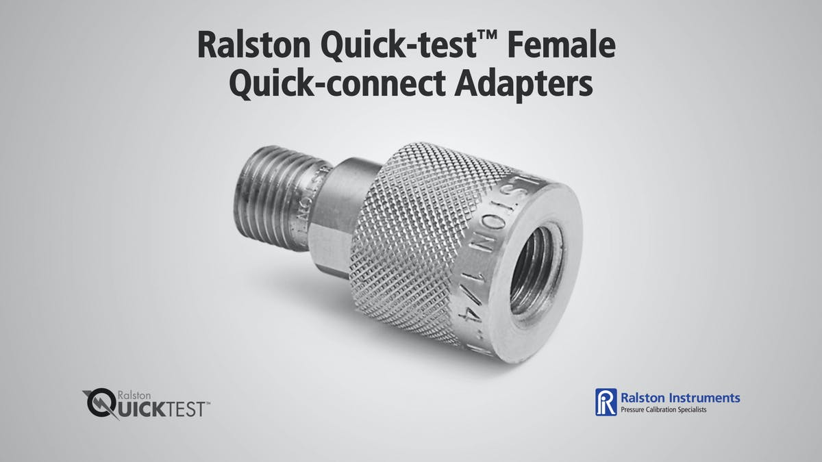 Metric Female Quick connect Adapters