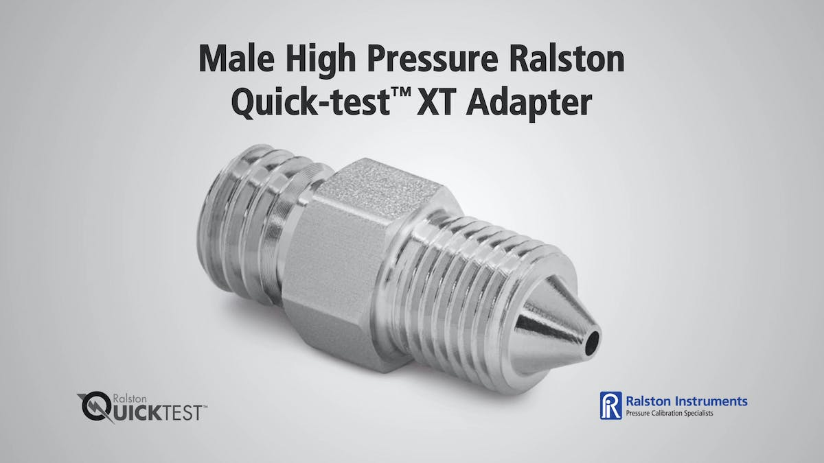 High Pressure Quick-test XT Adapters
