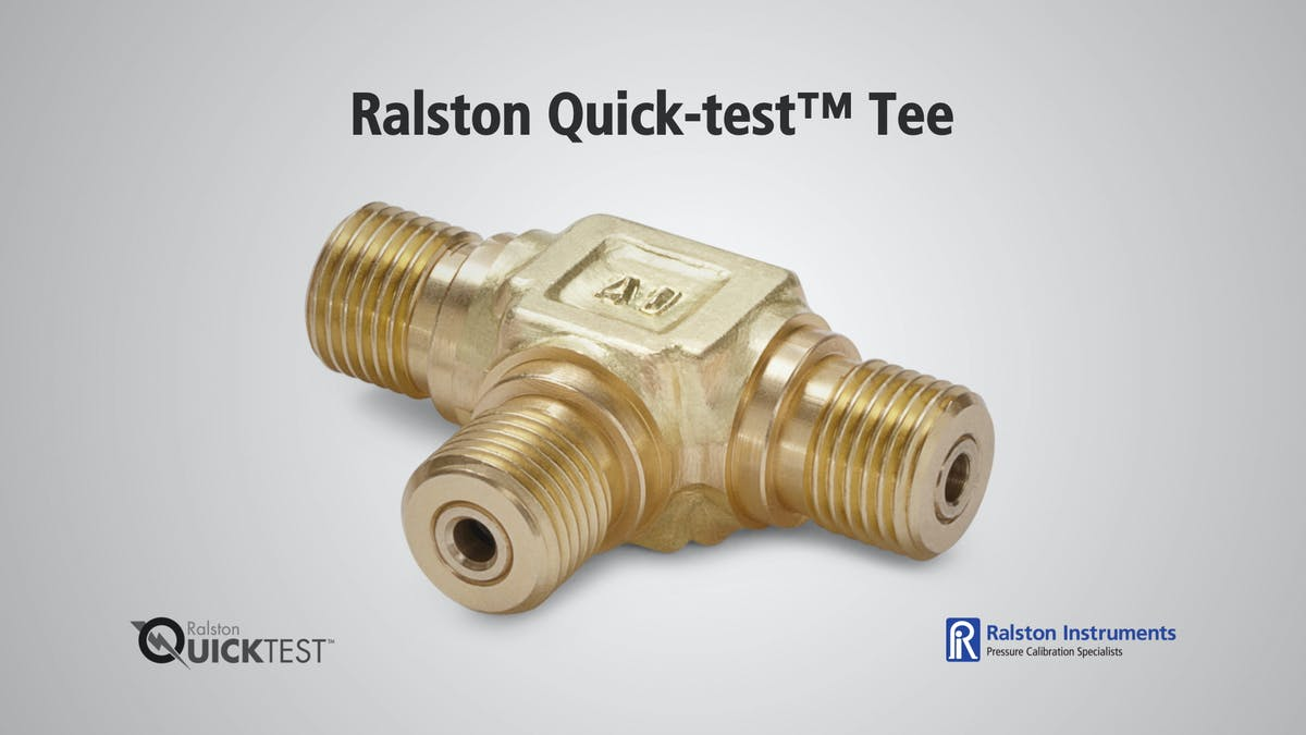 Ralston quick test tee
