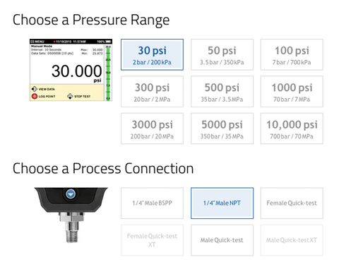 Digital Pressure Calibrator