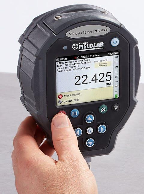 Pressure Safety Valve Testing Test Mode