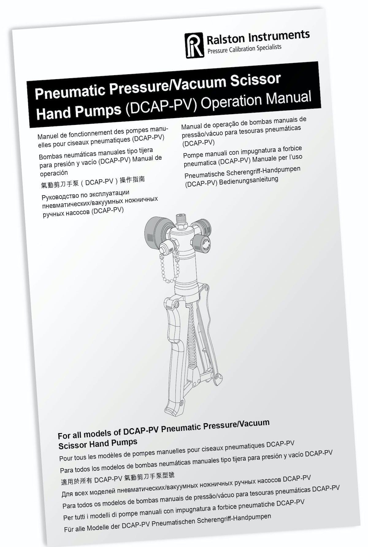 Dcap Pv Manual