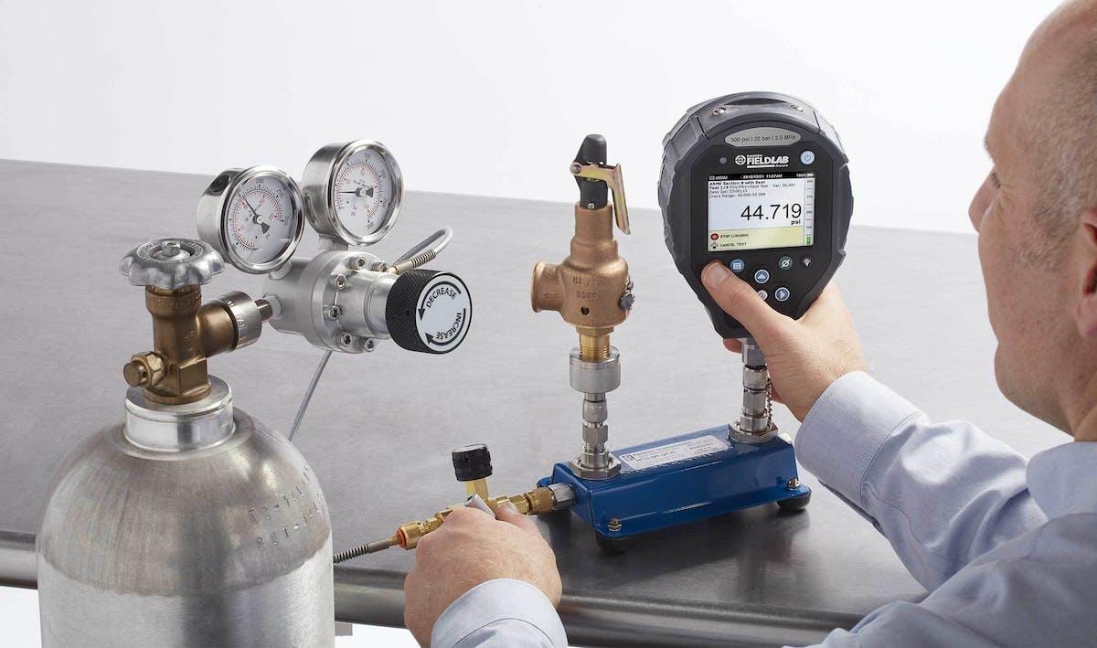 Pressure Safety Valve Testing